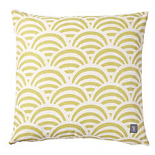 Citrine Soleil Print Outdoor Pillow