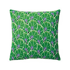 Palm Outdoor Pillow Cover – Kelly Green
