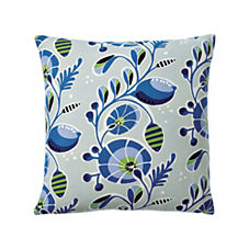 Tortuga Outdoor Pillow Cover – Cobalt