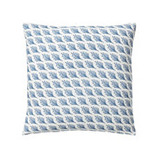 Captiva Outdoor Pillow Cover – Chambray
