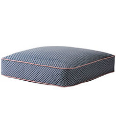 Cut Circle Floor Pillow - Navy