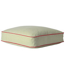 Cut Circle Floor Pillow – Grass