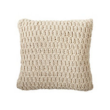 Nubby Knit Pillow Cover