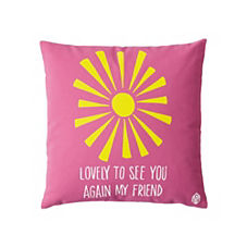 Sun Pillow Cover