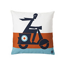 Scooter Pillow Cover
