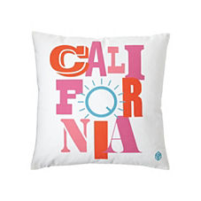 California Pillow Cover