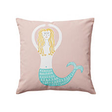 Wayne Pate Mermaid Pillow Cover