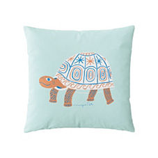 Wayne Pate Turtle Pillow Cover
