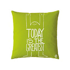 Today Pillow Cover – Lime