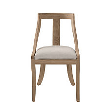 Josephine Dining Chair - Cerused Oak