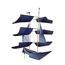 Sailing Ship Kite – Navy
