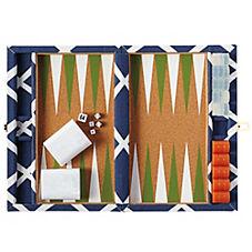 Diamond Backgammon Set – Navy