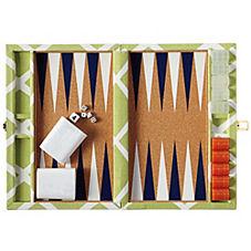 Diamond Backgammon Set – Leaf