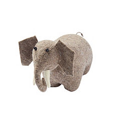 Zoo Animal Bookend – Elephant