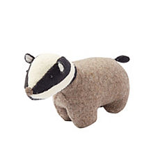 Zoo Animal Bookend – Badger