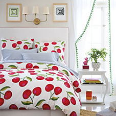 Cherry Duvet Cover & Sham