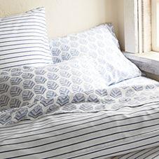 Percy Stripe Duvet Cover & Sham – Cobalt