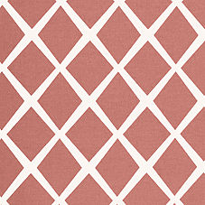 Coral Diamond Fabric Swatch