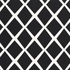 Diamond Fabric Swatch – Black