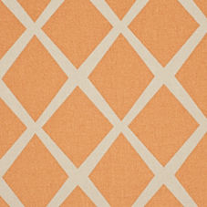 Saffron/Putty Diamond Fabric