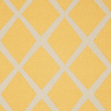 Diamond Fabric – Mustard/Putty