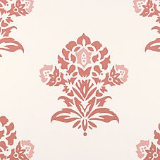 Jaipur Fabric Swatch – Coral