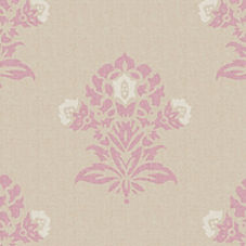 Plum/Putty Jaipur Fabric Swatch