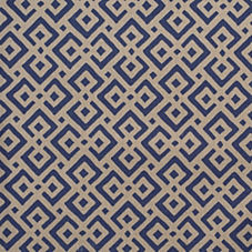Navy Lattice Fabric Swatch