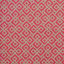 Flame Lattice Fabric Swatch