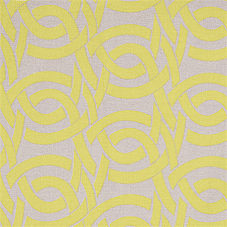 Highland Knot Fabric Swatch - Chartreuse