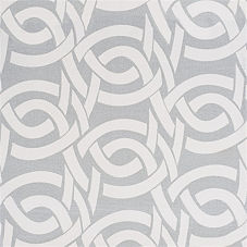 Highland Knot Fabric Swatch - Fog