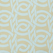 Highland Knot Fabric - Ice