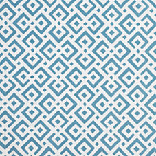 Lattice Fabric Swatch – Turquoise