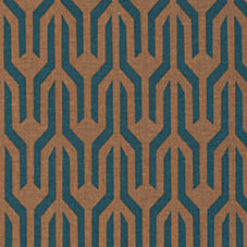 Kuba Fabric Swatch – Bronze