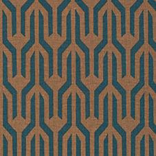 Kuba Fabric – Bronze