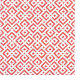 Lattice Fabric Swatch – Coral