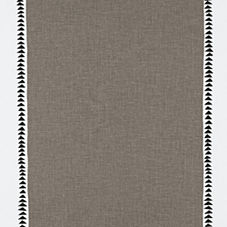 Racing Stripe Fabric Swatch – Pewter