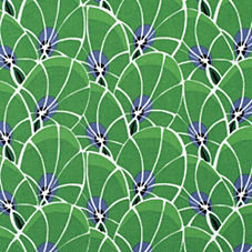 Palm Outdoor Fabric Swatch – Kelly Green