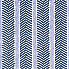 Herringbone Fabric Swatch – Navy