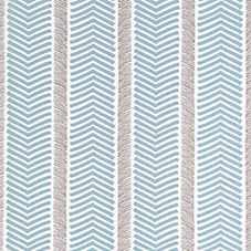 Herringbone Fabric Swatch – Aqua