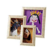 Woven Raffia Frames – Natural