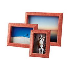 Woven Raffia Frames – Poppy