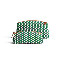 French Ring Perfect Pouch & Clutch – Lawn