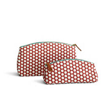 French Ring Perfect Pouch & Clutch – Nantucket Red