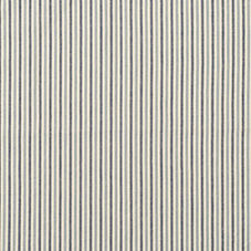 Oxford Stripe Cotton Fabric Swatch – Chambray/Navy