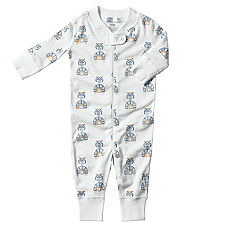 Hanna Anderson Organic Cotton Baby Sleeper - Blue Turtle