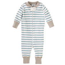 Hanna Andersson Baby Sleeper – Marine Stripe