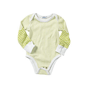 Hanna Andersson Chevron Bodysuit – Sprout