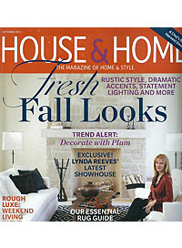 House & Home Magazine – October 2012