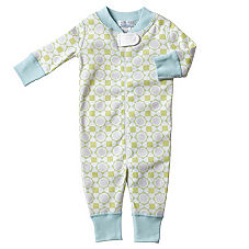 Hanna Andersson Organic Cotton Baby Sleeper - Sprout Tile